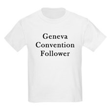 Geneva Convention Kids T-Shirt