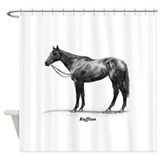 "Thoroughbred ""Ruffian"" Shower Curtain"