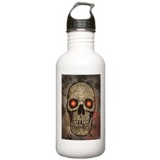 PSYCHEDELIC SKULL Water Bottle