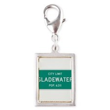 Gladewater, Texas City Limits Silver Portrait Char