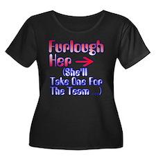 Furlough Plus Size T-Shirt