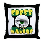 Play Free Online Chess Throw Pillow