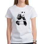 Hand Sketched Panda Women's T-Shirt