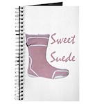 Sweet Suede Journal