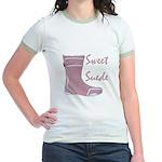 Sweet Suede Jr. Ringer T-Shirt