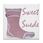 Sweet Suede Tile Coaster