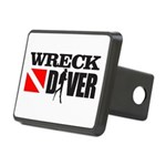 Wreck Diver 3 (black) Hitch Cover