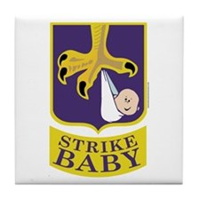 Strike Baby Tile Coaster