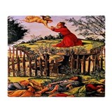 Agony on the Garden 1500 Throw Blanket