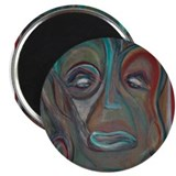 "African art and masks 2.25"" Magnet (10 pack)"
