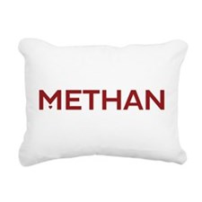 METHAN Logo Rectangular Canvas Pillow