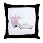 Butterfly Janes Throw Pillow