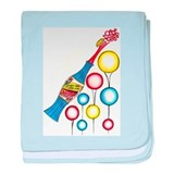 Soda Pop Fizz Bizz baby blanket