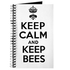 Keep Calm and Keep Bees Journal