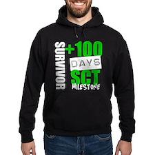 100 Days SCT Survivor Hoodie (dark)