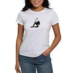 PAND BEAR HOLDING A SUCKER Women's T-Shirt
