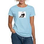 PAND BEAR HOLDING A SUCKER Women's Light T-Shirt