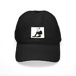 PAND BEAR HOLDING A SUCKER Black Cap