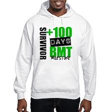 100 Days BMT Survivor Hooded Sweatshirt