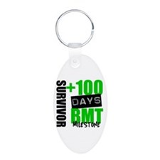 100 Days BMT Survivor Keychains