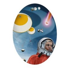 Gagarin's return to Earth, 1961 - Oval Ornament