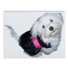 Cute Dog animal Wall Calendar