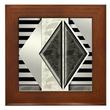 Art Deco: Retro Darade | Framed Tile