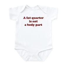 Quilting humor Infant Bodysuit