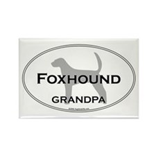 Foxhound GRANDPA Rectangle Magnet