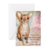 Unique Chihuahua Greeting Card