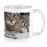 God Made Cats...2-sided Mug