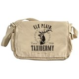 Elk Plain Taxidermy Messenger Bag