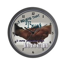 Funny Open marriage Wall Clock