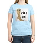 Walk On Women's Pink T-Shirt
