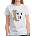 Walk On Women's T-Shirt