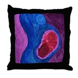 Postpartum Throw Pillow