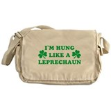 hung-like-a-leprechaun.png Messenger Bag