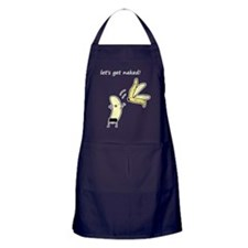 Lets get naked Apron (dark)