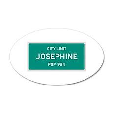 Josephine, Texas City Limits Wall Decal