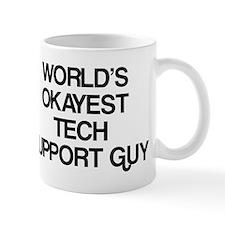 World's Okayest Tech Support Guy Mug
