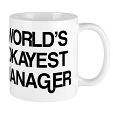 World's Okayest Manager Coffee Mug