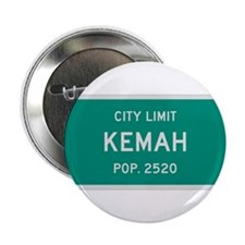 "Kemah, Texas City Limits 2.25"" Button"