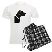 Great Dane with collar and tag Pajamas