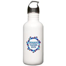 Swimming Coaches Rock Water Bottle
