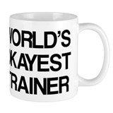 World's Okayest Trainer Small Mug