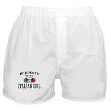 Property of an Italian Girl Boxer Shorts