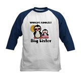 big sister penguin Baseball Jersey