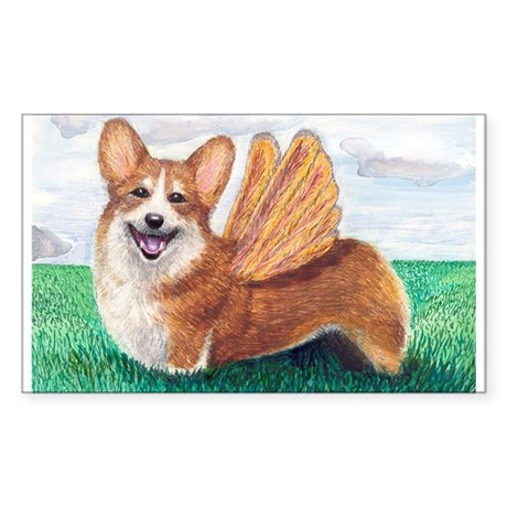 Corgi Rectangle Sticker