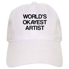 World's Okayest Artist Baseball Cap