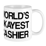 World's Okayest Cashier Mug